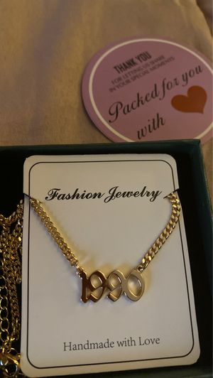 Customized year necklace for Sale in Los Angeles, CA