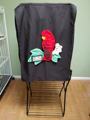 Ideal for Conure or Amazon. Bird cage and stand. for Sale in Bowie, MD