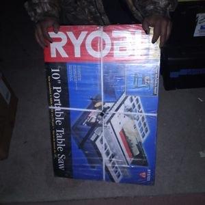 Brand New Ryobi Table Saw for Sale in San Bernardino, CA