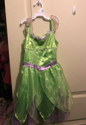 Disney Tinkerbell Costume size 5/6 for Sale in North Las Vegas, NV