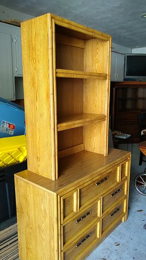 Bedroom dressers, book sold and mirror for Sale in Norfolk, VA