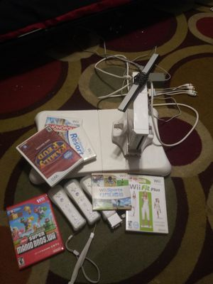 Wii game console and games for Sale in Washington, DC