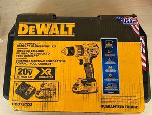 DeWalt DCD797D2 compact hammer drill kit for Sale in Atlanta, GA