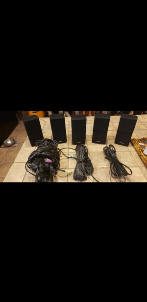 Bose Double Cube Speakers for Sale in Maricopa, AZ