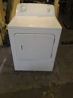 Electric dryer brand Admiral everything is good working condition 90 days warranty delivery and installation for Sale in San Leandro, CA