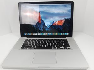 "Macbook Pro 15"" Laptop Gray for Sale in Silver Spring, MD"