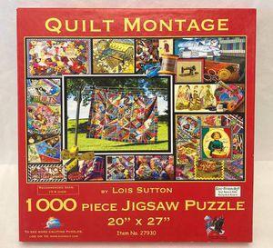 SunsOut jigsaw puzzle Quilt Montage by Lois Sutton 1000 piece for Sale in Phoenix, AZ