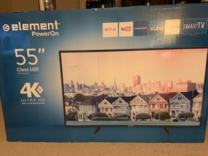 55 inch Element Smart TV - Brand New for Sale in Kingsport, TN