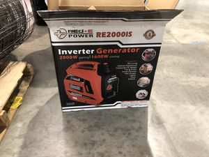 Red E- Power generator 2000is. for Sale in Los Angeles, CA