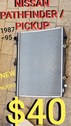 NISSAN pathfinder truck radiator new for Sale in Los Angeles, CA
