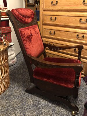 100+ year old Antique Rocking Chair for Sale in West Valley City, UT