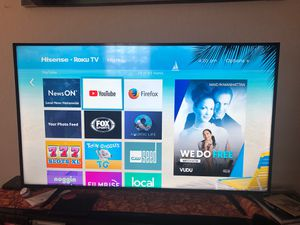 """58"" INCH , HISENSE *ROKU TV , NEW for Sale in Fort Pierce, FL"