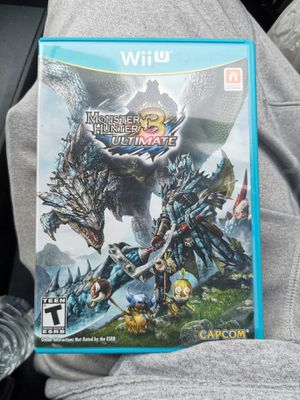 Monster hunter 3 ultimate for Sale in San Diego, CA