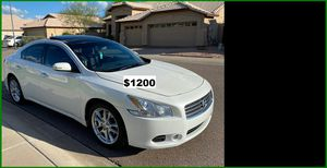 Price$1200 Nissan MAxima for Sale in Raleigh, NC