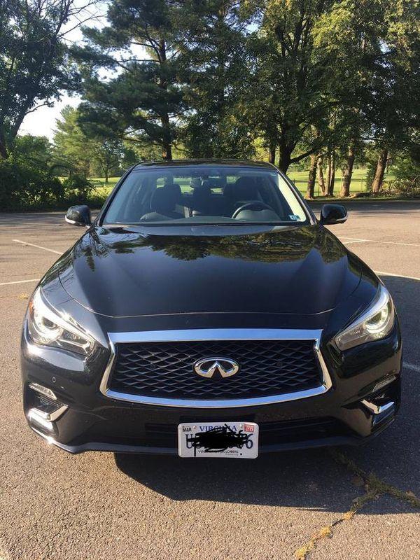 2018 Infiniti Q50 luxury