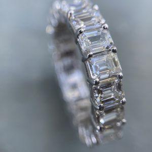 4.31 Carat Emerald Cut Diamond Eternity Band (G-H Color/VS2 Clarity) for Sale in Phoenix, AZ