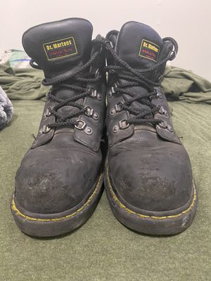 Dr. Martins Work Steel Toe Boots for Sale in Hyattsville, MD