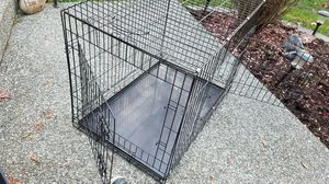 Xl dog kennel with two doors for Sale in Marysville, WA