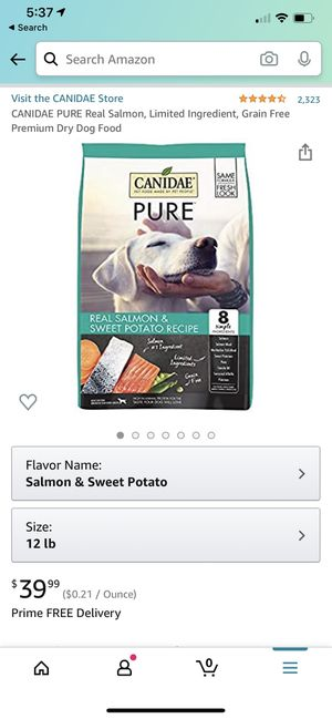 Canidae dog food for Sale in Rosemead, CA