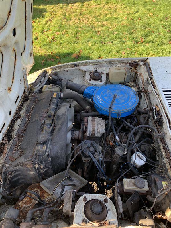 Mazda 12a Rotary engine/transmission swap