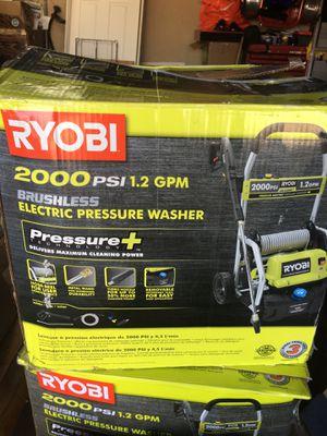 RYOBI electric pressure washer for Sale in Fullerton, CA