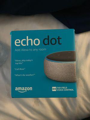 Amazon Alexa Echo dot 3rd gen for Sale in Palo Alto, CA