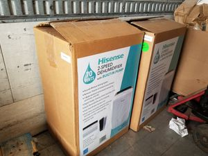 Used, Brand New Hisense Dehumidifiers x2 $150 each for Sale for sale  Rockmart, GA