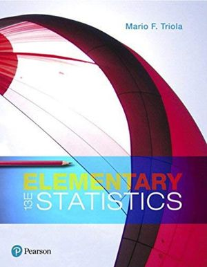Elementary Statistics 13th edition for Sale in Los Angeles, CA