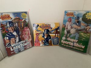Lazy town DVDs and CDs for Sale in Brightwaters, NY