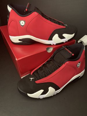 "Size 12 AIR JORDAN 14 GYM RED ""TORO"" for Sale in Arlington, TX"