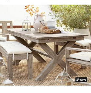 Pottery Barn Outdoor Table New in Box for Sale in Miami, FL