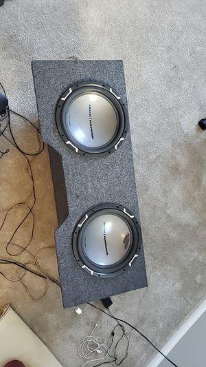 MTX Audio Jack Hammer Car Subwoofer 2 12's for Sale in Las Vegas, NV