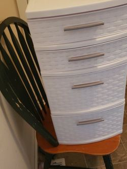 Small Plastic Storage Bin With Drawers for Sale in Battle Ground,  WA