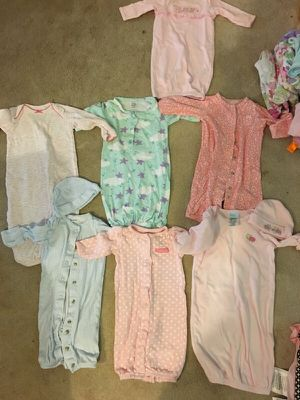 7 0-3 month girl gowns for Sale in Millersville, MD