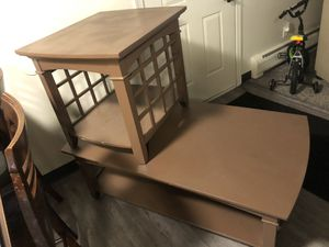 Coffee Table + End Table for Sale in Englewood, CO