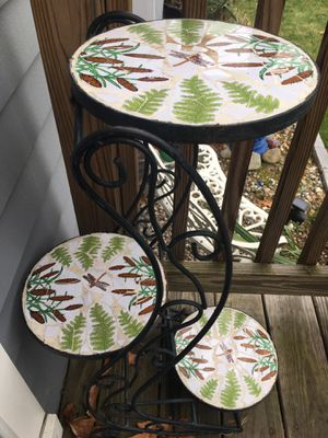 Wrought iron plant stand for Sale in Westford, MA