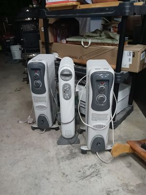 3 Oil Filled Portable Room Heaters for Sale in Portland, OR