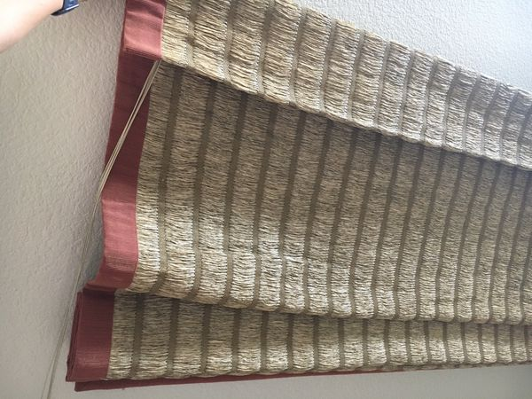 Window covering -woven wood