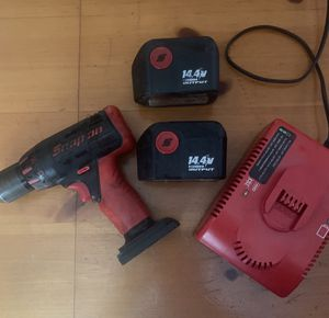 Snap on drill/ driver 14.4 for Sale in Marathon, NY
