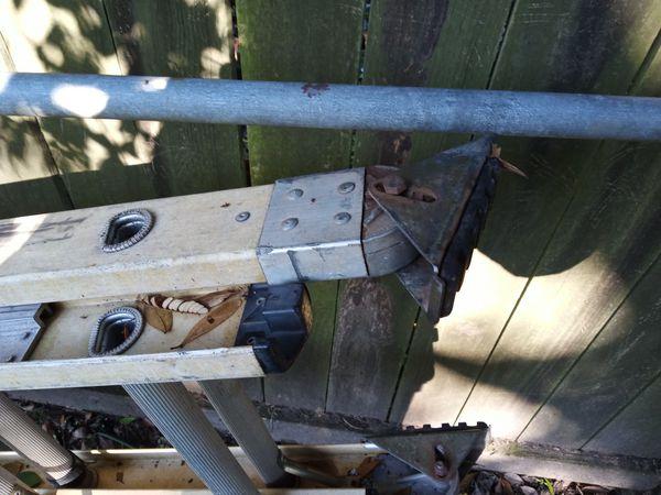 20 foot type 1 fiberglass extension ladder