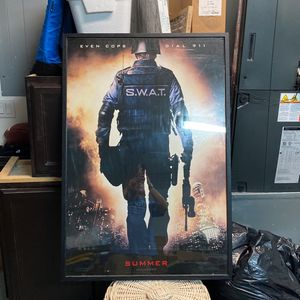 Rare Original Movie Theater S.W.A.T. Preview Poster Double Sided for Sale in Clearwater, FL