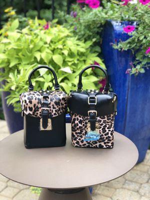 Leopard Rivet Small Box Shoulder Messenger Bag for Sale in Chamblee, GA
