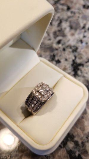 2.05 TDW princess cut wedding ring for Sale in Queen Creek, AZ
