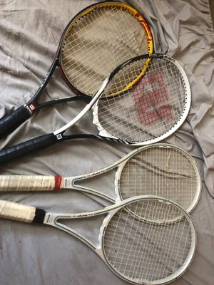 Wilson tennis rackets for Sale in New York, NY