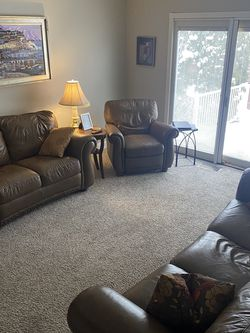 Leather Couch Set for Sale in Monroe Township,  NJ