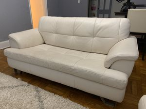White Leather Couches for Sale in Cranford, NJ