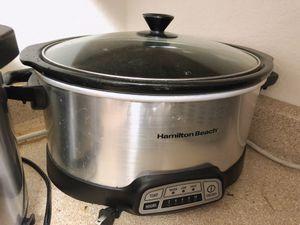 Slow cooker 8 QT Programmable for Sale in Bellevue, WA