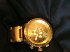 95$ bucks ill drop off, nixon 51-30 , has some scrapes on band i took pics, but my camera poor quality for Sale in Dallas, TX