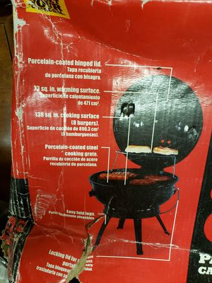 Portable Charcoal Grill 14.5 Inches for Sale in Tacoma, WA