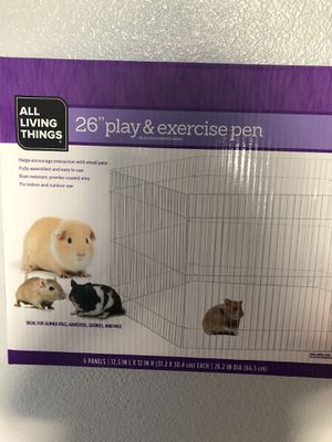 Small Animal play pen from PETSMART for Sale in Riverside, CA